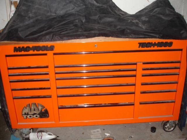 MAC Tools Tech 1000 Tool box 3 bank