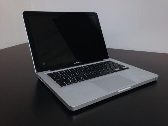 MacBook Pro 13 i7 500GB CS6 Final Cut Pro Logic Pro office 2016