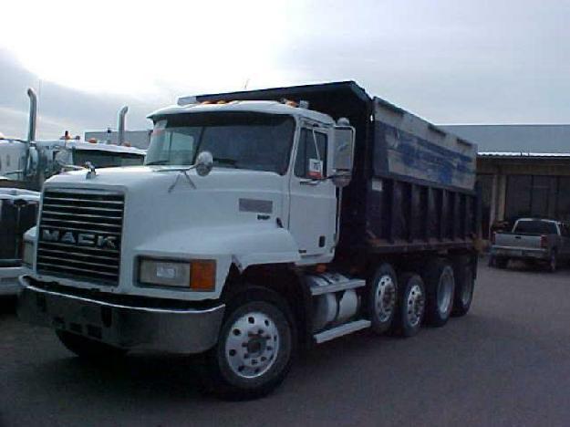 Mack Quad Dump Trucks : Mack ch quad axle dump truck for sale in