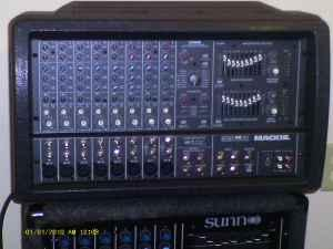 Mackie Powered Mixer - $500 valley