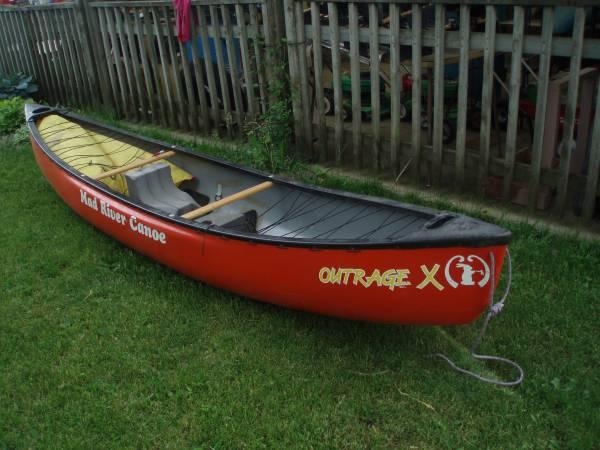 MAD RIVER OUTRAGE X 13' WHITEWATER CANOE - $750