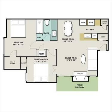Madera Brentwood - Spacious 1 and 2 Bedrooms - $99