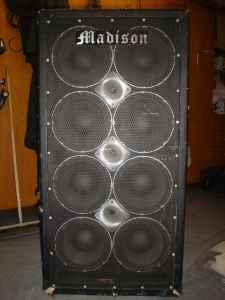 Madison 8x10 Bass Cabinet USED   $400 (Duluth, MN)