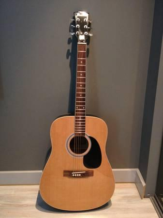 Maestro by Gibson - 6-String Full-Size Acoustic Guitar - Natural - $55