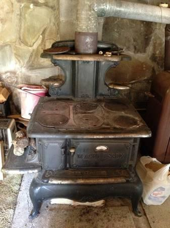 MaGee Essex wood/coal cook stove - for Sale in Addison, New York