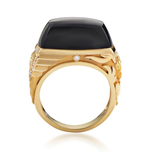Magerit Babylon Caramelo Mini Women's 18K Yellow Gold