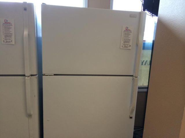 Magic Chef White Top Mount Garage Refrigerator - USED