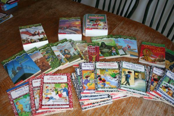 MAGIC TREE BOOKS LOT OF 10