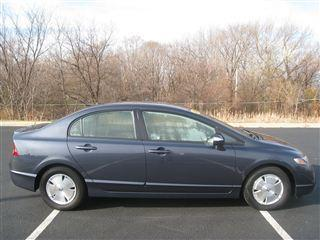magnesium blue 2007 honda civic hybrid 4 door sedan dealer greenfield for sale in greenfield. Black Bedroom Furniture Sets. Home Design Ideas