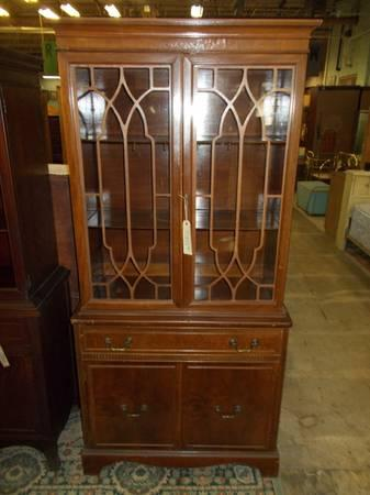 Mahogany China Closet for Sale in Greenwich