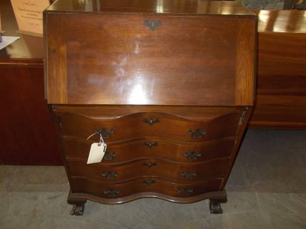 Mahogany Secretary Desk for Sale in Greenwich