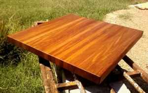 Mahogany Cutting Board 25 x 25 - $120 (Midland)