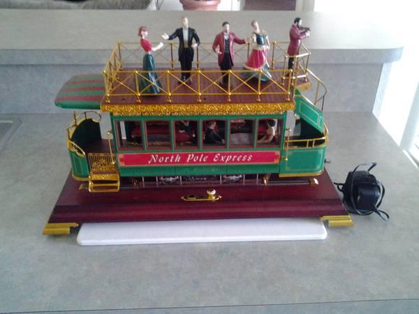 MAISTRO-NORTH POLE EXPRESS-LIGHTS ANIMATION CHRISTMAS CAROLS TROLLEY - for Sale in Sebring ...