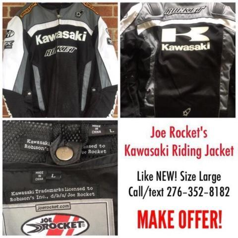 MAKE OFFER 3 diff items nice motorcycle jackets