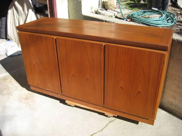 Danish Teak Credenza For Sale : Make offer skovby danish mid century sideboard teak credenza
