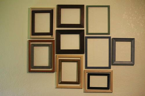 Making a picture wall i have 13 custom made wall frames for American frame coupon