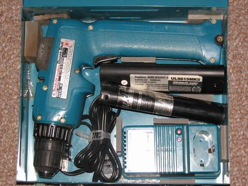 makita 6093d 9 6v dc nicd 3 8 cordless drill driver and keyless chuck for sale in bucks bar. Black Bedroom Furniture Sets. Home Design Ideas