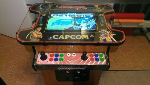 Mame Arcade Cocktail Cabinet Jamma Pacman Mortal Kombat