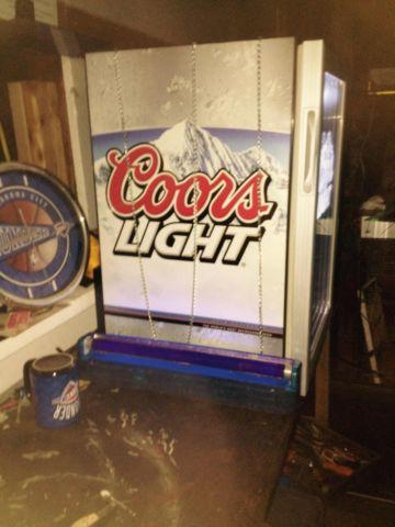Man cave beer ice box