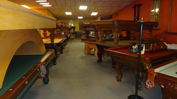 Man Cave Classifieds : Quot man cave masters pool table cues bar stools