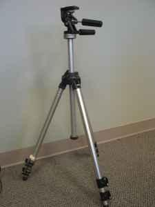 Manfrotto/Bogen 3021 tripod with 3029 head - $150