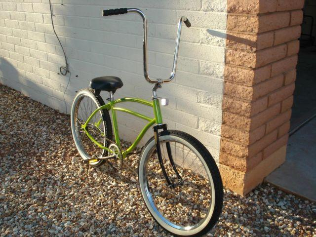 mans 24 inch straight bar bike
