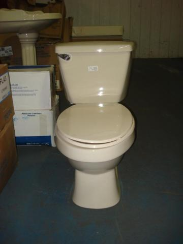 Mansfield Mancesa Easton Elongated Bone Toilet For Sale In