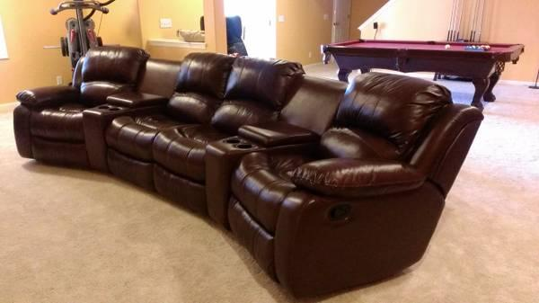 manwah 6piece reclining home theater group