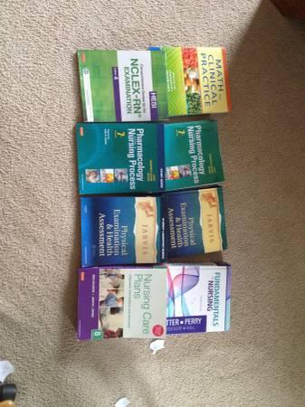 Many college books, Nursing Prgram and others