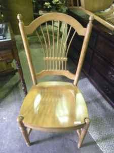 Maple Ethan Allen Wheatback Chair - $90 (It's New To Me