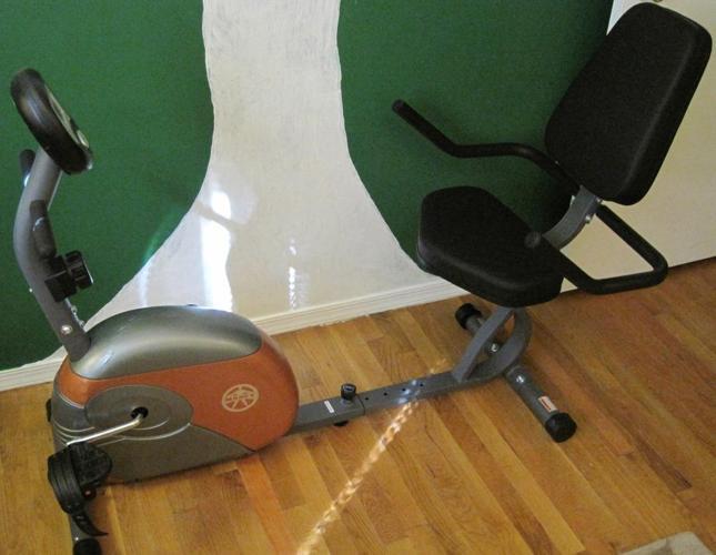 Marcy ME-709 Recumbent Exercise Bike** (comfortable seat