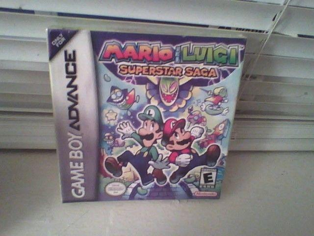 Mario and Luigi Superstar Saga for Gameboy Advance