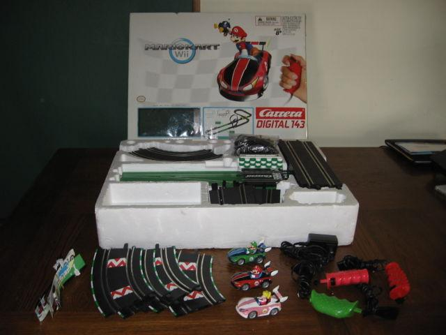 MarioKart Wii Digital Slot Car Track