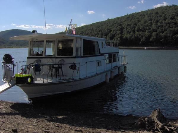 Marionette,Seacrest Wide Body Executive Houseboat, House Boat - $35000