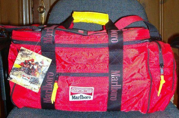 Marlboro Adventure Team Lizard Rock Cooler Tote Bag