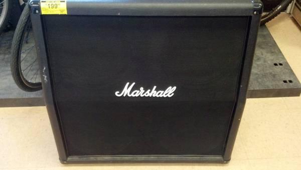 Marshall 4x12 Cab - $199