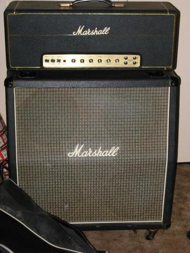Marshall Amp 1980 high output 50 watt half stack,Great Condition,$2000 or best offer