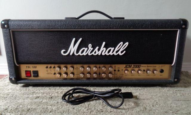 Marshall JCM 2000 TSL 100 Watt Guitar Amplifier amp