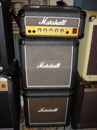 Marshall Lead 12 Amp - Mini Stack - $210