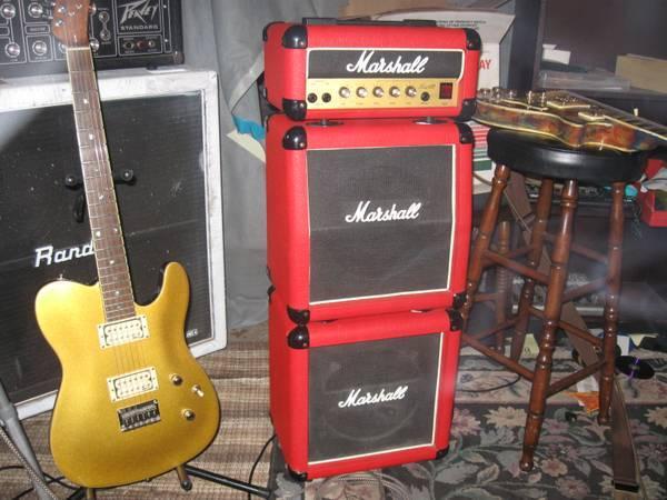 Marshall Lead12 MiniStack/Studio Monitors/Pedals