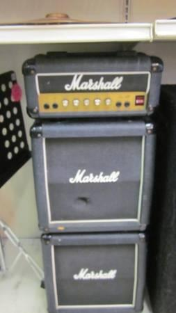 marshall mini stack for sale in rayford texas classified. Black Bedroom Furniture Sets. Home Design Ideas