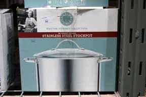 Martha Stewart Collection Cooking Elements Stock Pot,