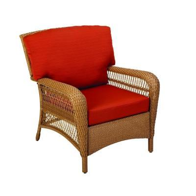 Wondrous Martha Stewart Living Charlottetown Natural All Weather Uwap Interior Chair Design Uwaporg