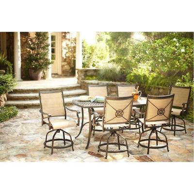 Martha Living Solana Bay 7 Piece Patio High