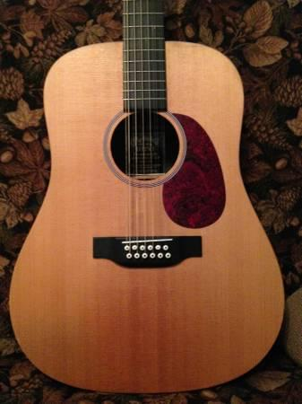 martin 12 string guitar w ohs case for sale in woodland minnesota classified. Black Bedroom Furniture Sets. Home Design Ideas