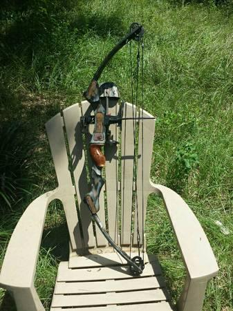 Martin Archery M-44 Firecat compound bow - $150