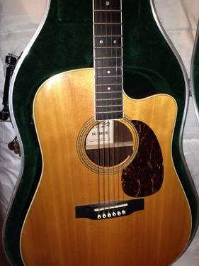 Martin  Co. Acoustic Guitar With Case