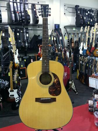 martin sigma dm 2 dreadnought acoustic guitar for sale in sand springs oklahoma classified. Black Bedroom Furniture Sets. Home Design Ideas
