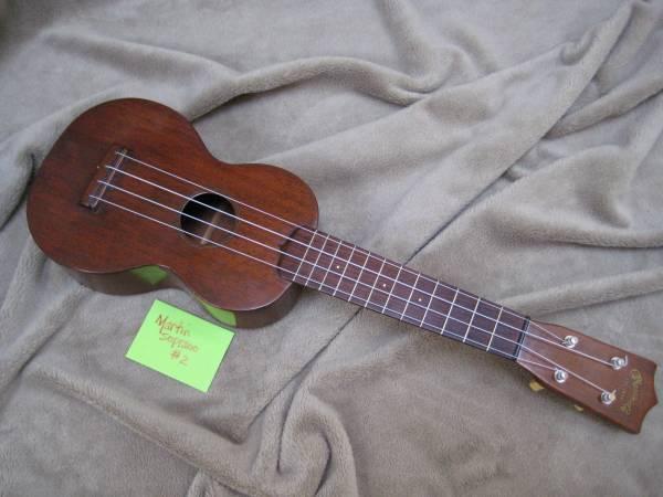 Martin Soprano ukulele, circa late 1940s - $400