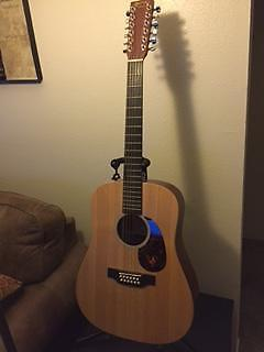 martin x series acoustic electric 12 string guitar w hardshell case for sale in chico. Black Bedroom Furniture Sets. Home Design Ideas
